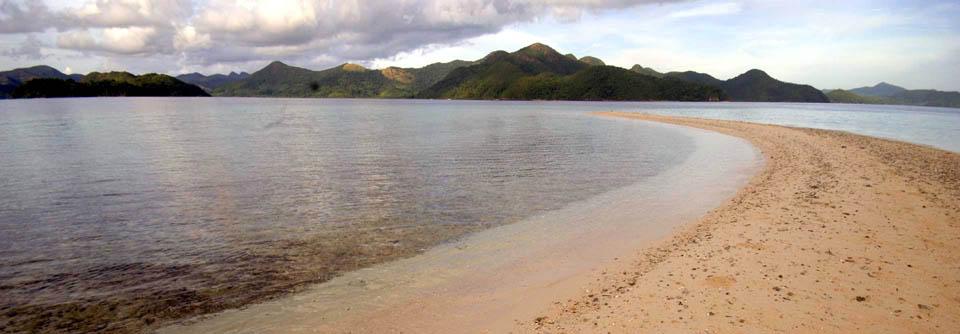 sandbar at Palawan SandCastles